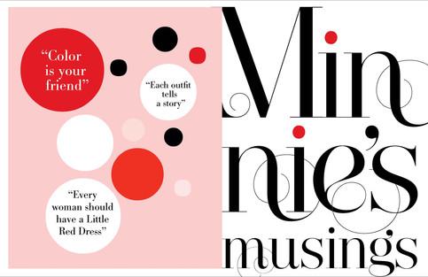 Disney Minnie Profolio: Branding program for Young Women of the World!