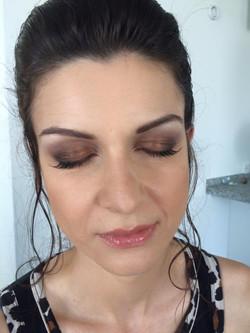Make-up für Trauzeugin
