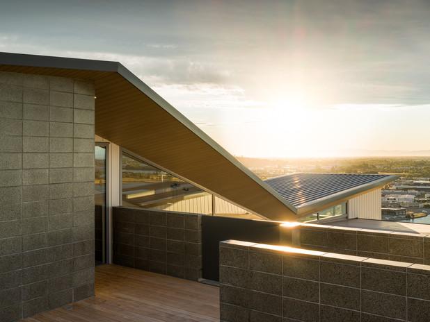 Sunset Redcliff hillside home