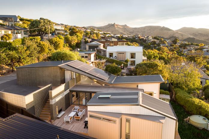Split level Christchurch architectural home