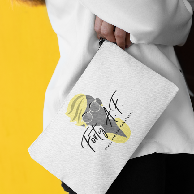 Forty A.F.- Lemon Squeeze - Zip Pouch