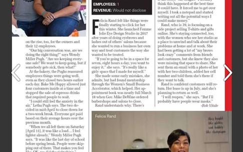 Femme Jolie in Columbus CEO Magazine