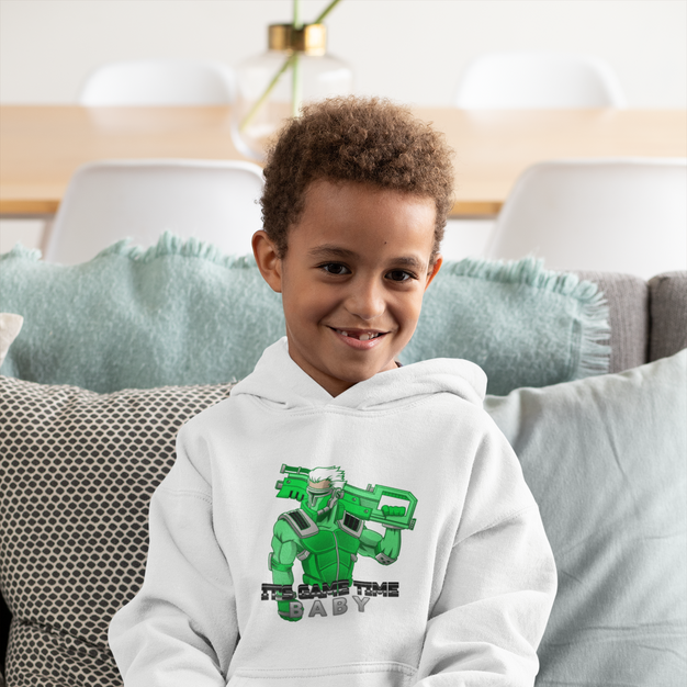 It's Game Time Baby - Pullover Hoody