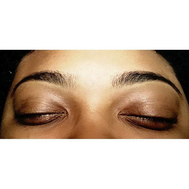 Brow Sculpture (brow wax)