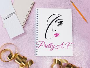 Pretty A.F. by Femme Jolie Columbus. Women's t-shirts, masks, home decor, & accessories