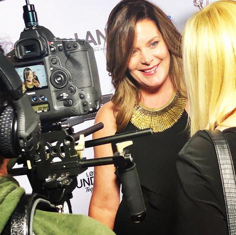 Cari Shayne Pre-Emmy Red Carpet