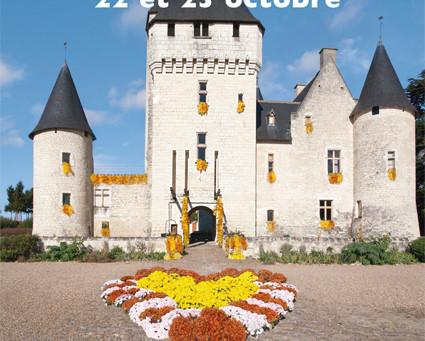 Festival des fleurs d'automne 22 et 23 octobre 2016 au Château du Rivau