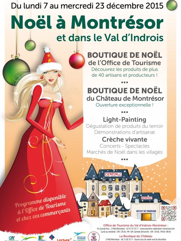 Marché de Noël 2015 Montrésor