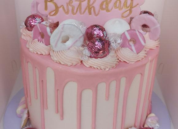 Drip cake - pink dream