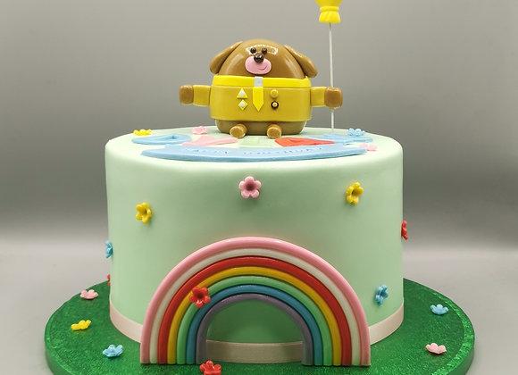 Hey Dugee cake