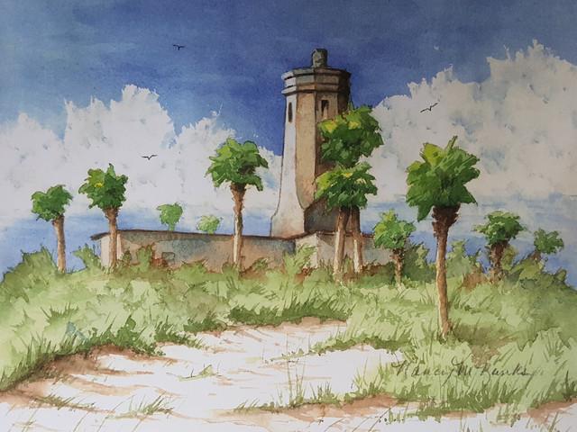 St. Johns River Lighthouse, Mayport Naval Station, Florida