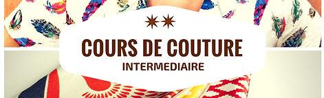 Cours de couture à l'atelier Galon d'Ingres à Aurillac - tous niveaux