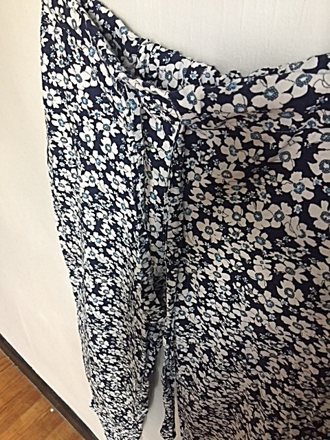 pantalon @galondingres création atelier de couture à Aurillac