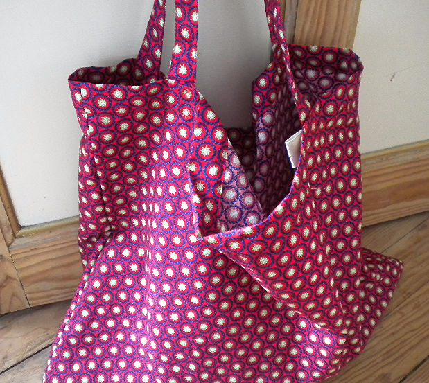 Tote bag imprimé #rouge @galondingres