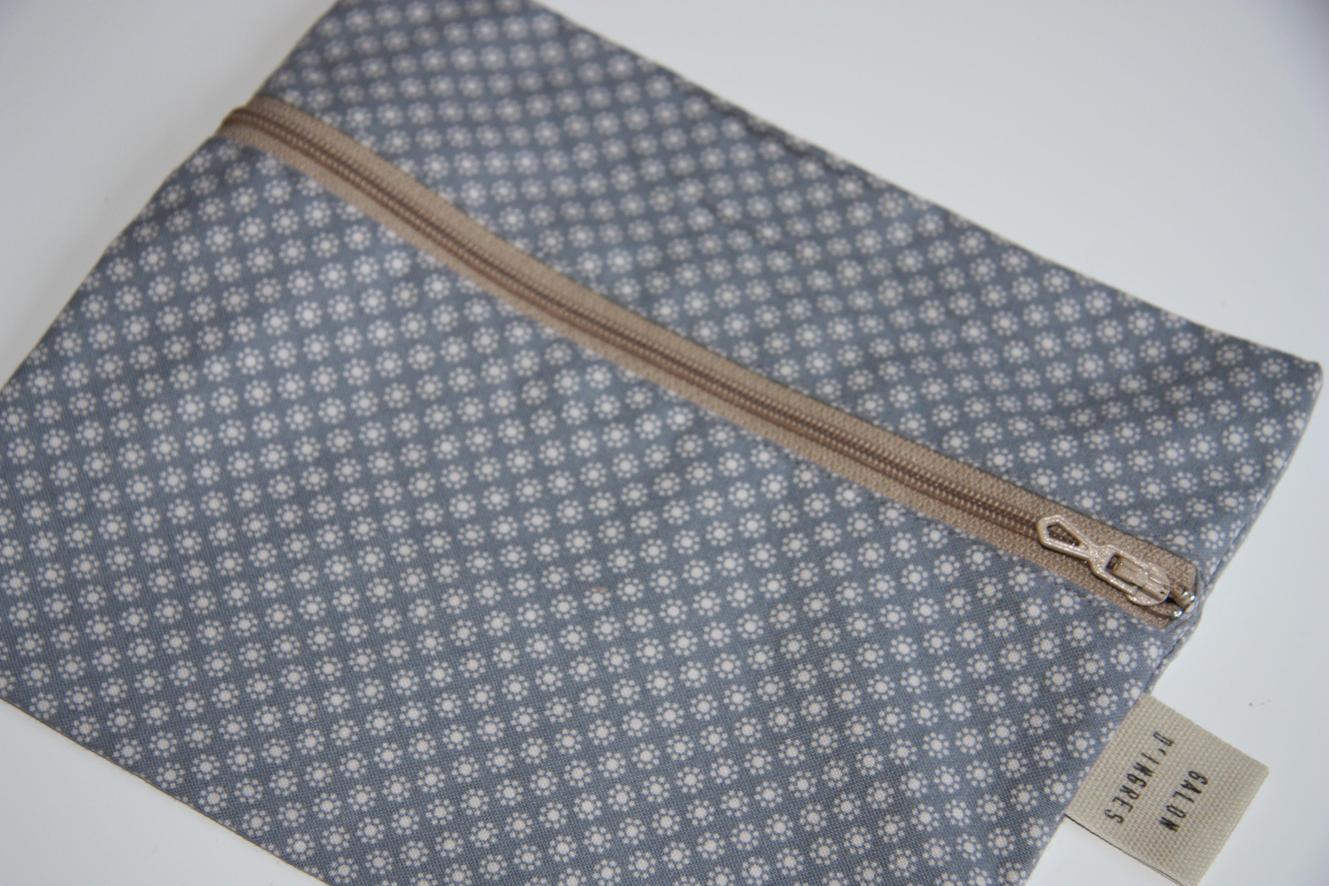 Trousse plate en coton Tilda @galondingres