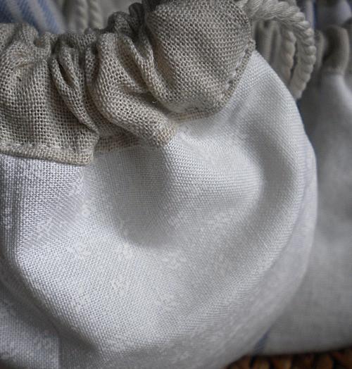 Pochon - création Atelier de couture Galon d'Ingres