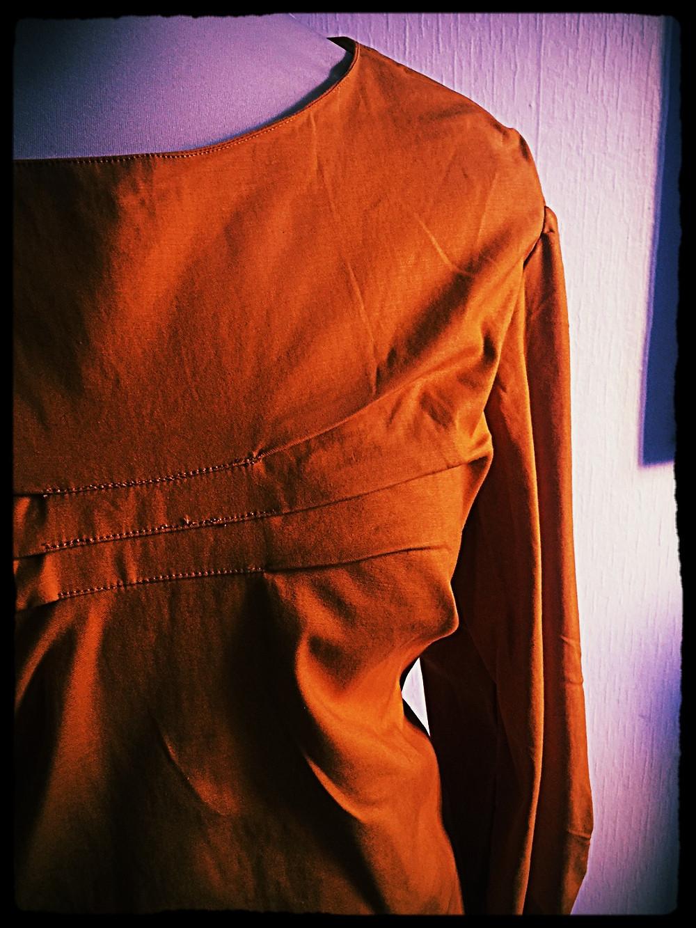 blouse satin de coton @galondingres 2017