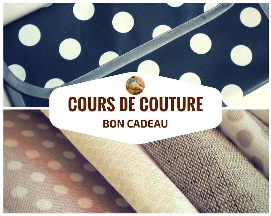 bon cadeau couture à l'atelier Galon d'Ingres à Aurillac