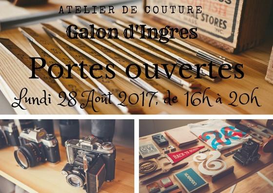 portes ouvertes à l'atelier de couture Galon d'Ingres à Aurillac