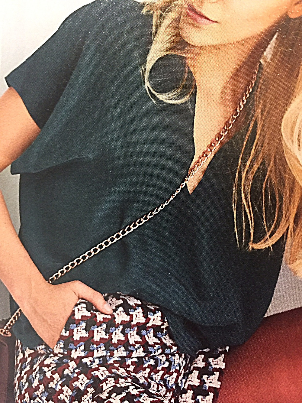 modèle blouse de fête