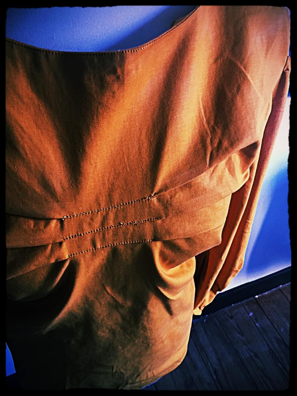 blouse satin de coton  @galondingres