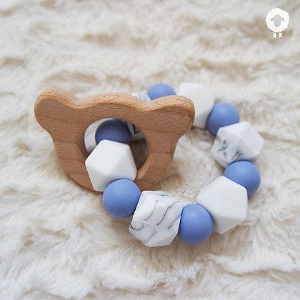 Anneau de dentition - SÉRÉNITÉ Bleu