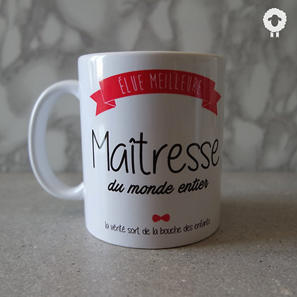Mug maîtresse