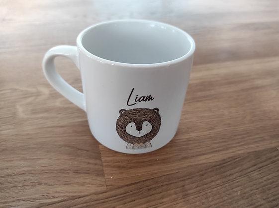 Mini mug PERSONNALISABLE animaux