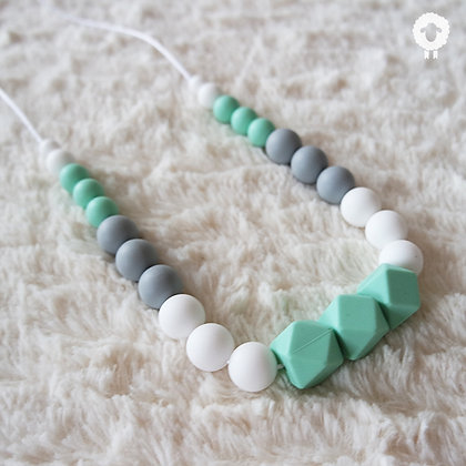 Collier MAXI - TENDRESSE Menthe