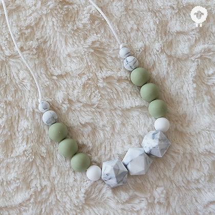 Collier MIDI - SÉRÉNITÉ Olive