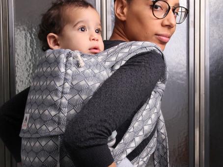 Zoom sur le porte-bébé LIMAS