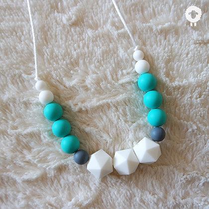 Collier MIDI - INNOCENCE Turquoise