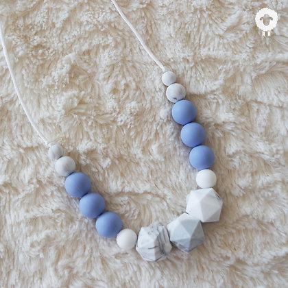 Collier MIDI - SÉRÉNITÉ Bleu