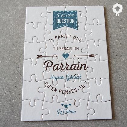 Puzzle demande parrain