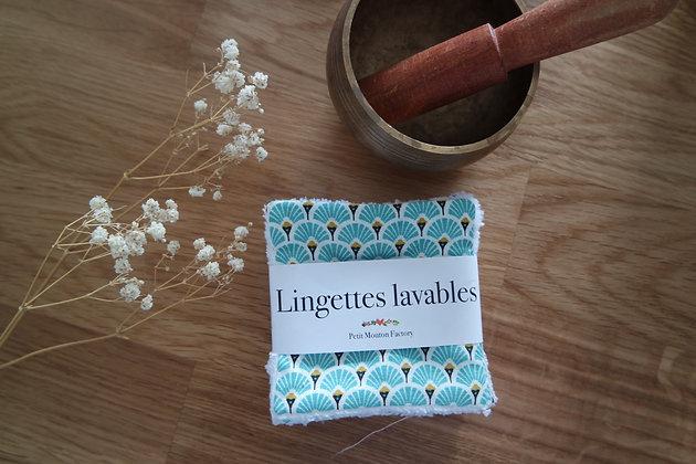 Petites lingettes EVENTAIL MENTHE
