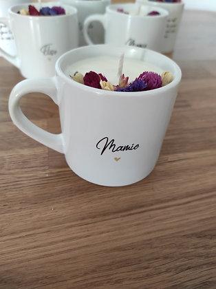 Mini mug  bougie MAMIE