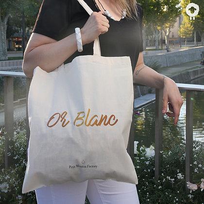 Tote bag - OR BLANC