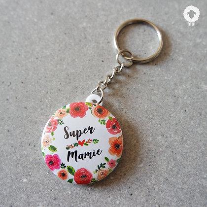 Porte-clés mamie - FLOWER