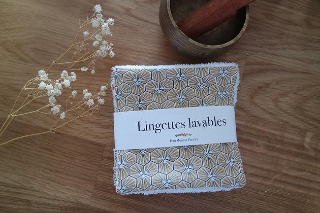 Grandes lingettes OR/NOIR GEO