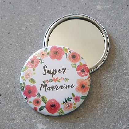 Miroir marraine - FLOWER