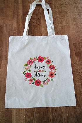Tote bag ATSEM - FLOWER