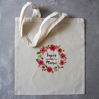 Tote bag mamie - FLOWER