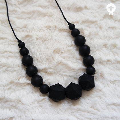 Collier MIDI - MINIMAL Noir