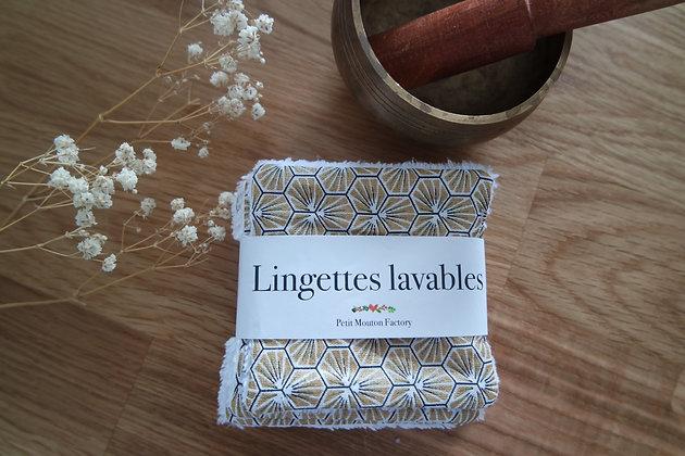 Petites lingettes OR/NOIR GEO
