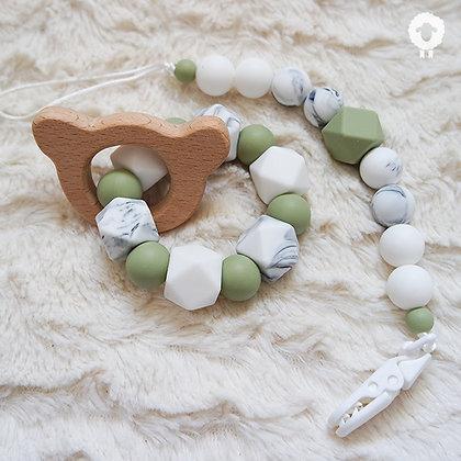 Coffret bébé - SÉRÉNITÉ Olive