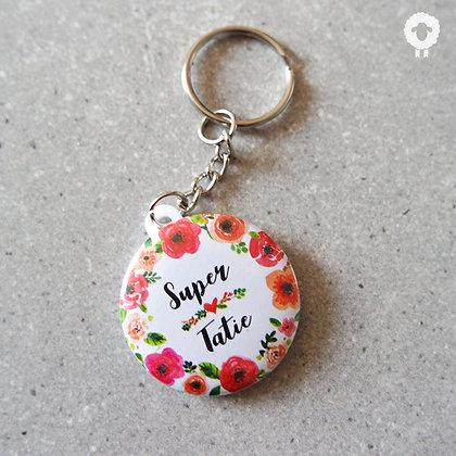 Porte-clés tatie - FLOWER