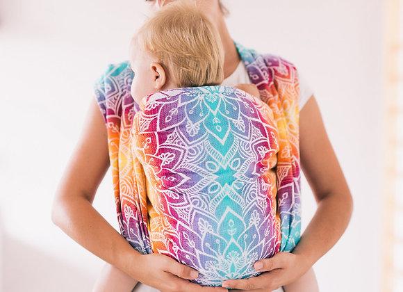 Echarpe de portage Mandala Rainbow - Be Lenka