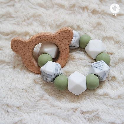 Anneau de dentition - SÉRÉNITÉ Olive