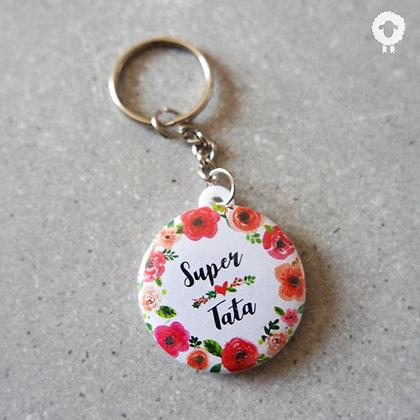 Porte-clés tata - FLOWER