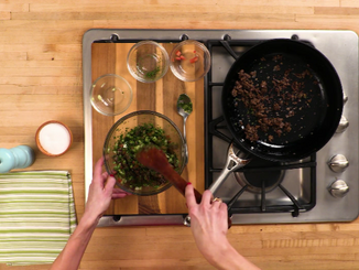 To Eat with Love: Healthy Lamb Lettuce Wraps